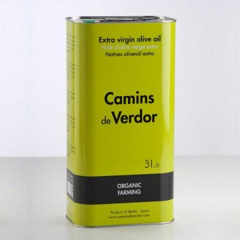 CAJA 4 LATAS ECO ACEITE OLIVA VIRGEN 3L.